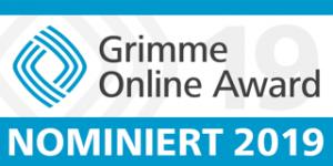 Grimme Online Award nominiert 2019